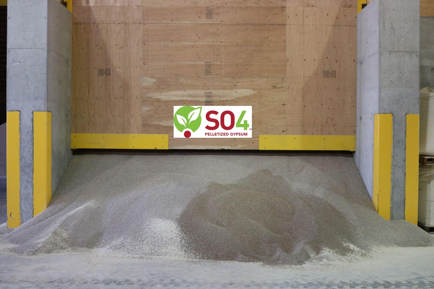 SO4 in a Dry Fertilizer